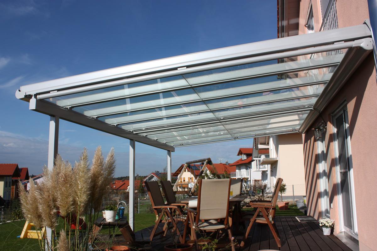 Terrassen Dach Verglasung Pforzheimer Fensterbau